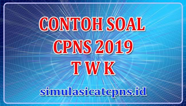 50 Contoh Soal Cpns Twk Bagian 02 Simulasi Cat Cpns